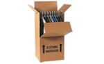 Buy Wardrobe Box with hanging rail in Peterborough