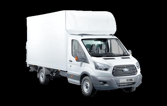 Man and Luton Moving Van in Peterborough